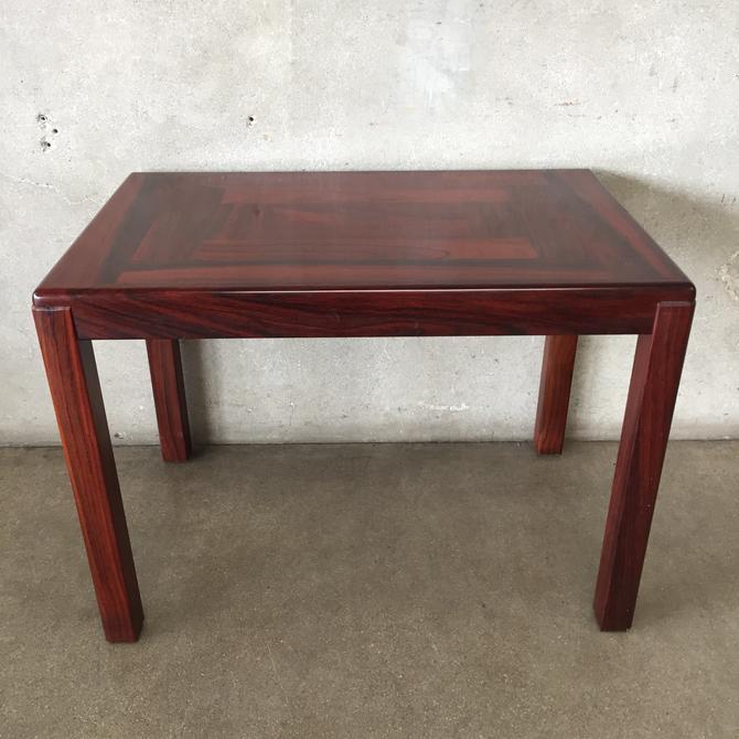 Mid Century Danish Vejle Stole Rosewood End Table