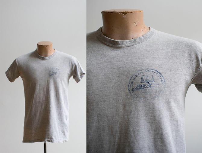 Vintage 1960s College Tshirt / Vintage College Shirt / 1960s Liberal Arts College / Vintage Hiram Scott College Tshirt / Vintage Nebraska by milkandice
