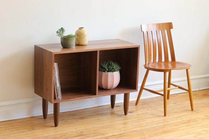 Handmade Mid Century Modern Inspired Record Shelf by SharkGravy