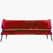 Red Winged Sofa