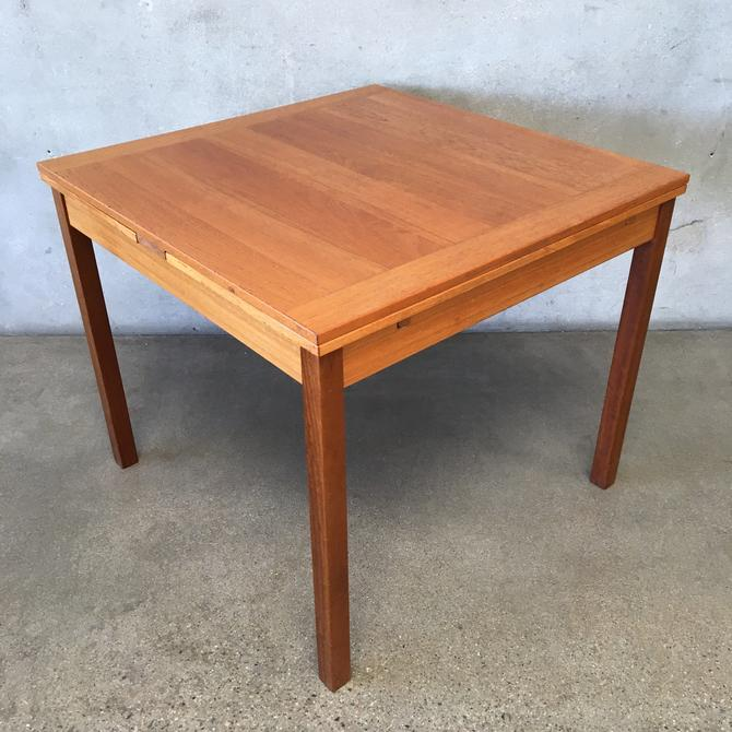 Mid Century Expandable Dining Table by Mobler