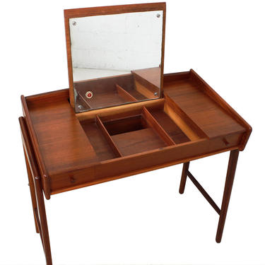 Danish Modern Teak Vanity Table