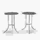 Occasional tables, pair (Cedric Hartman)