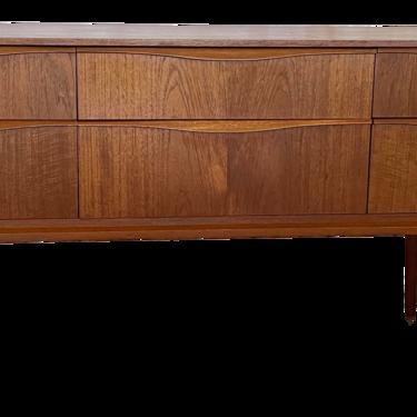 1960s Austinsuite Mid Century Teak Lowboy Dresser