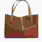 Tiffany Cognac Leather Tote