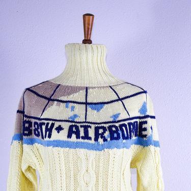 90's Women's Oversized Cable Knit Turtleneck by blackwellhabitat