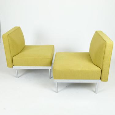 Casprini Chrome Lounge Chairs