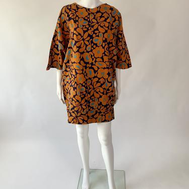 1968 Butterfly Cocoon Dress
