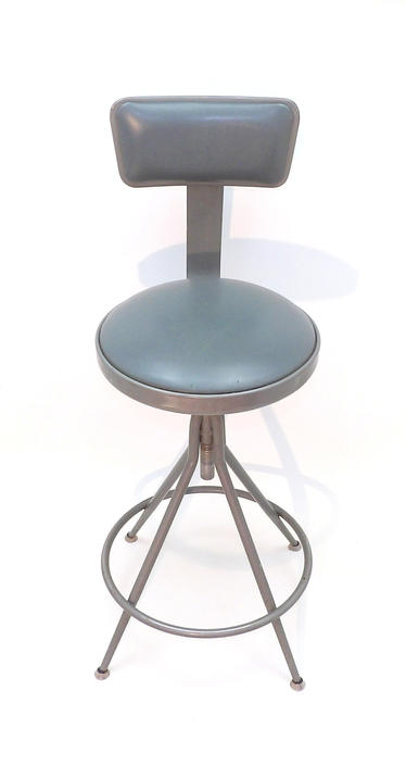 Wondrous Mid Century Modern Industrial Drafting Stool Chair Swivel Uwap Interior Chair Design Uwaporg