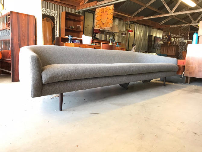 Stunning Mid Century Modern Adrian Pearsall Cloud Sofa Couch. Free Continental US Shipping by ModernFlamingo