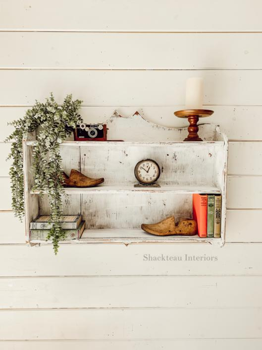 Vintage Farmhouse Shelf