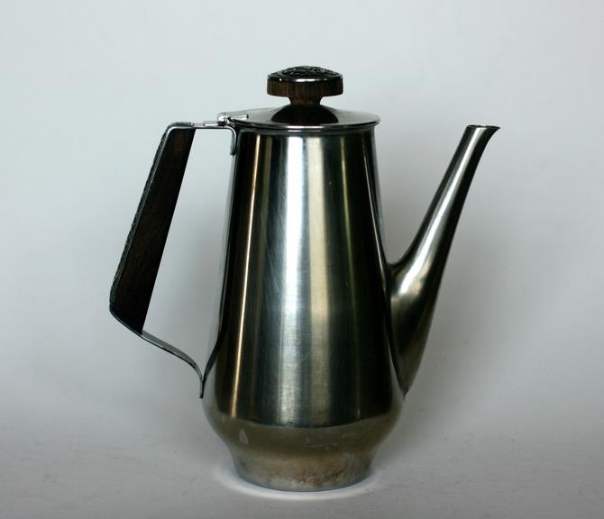vintage International Decorator Stainless coffee server by suesuegonzalas