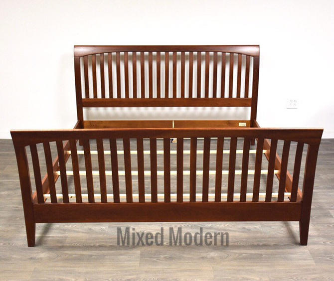 Ethan Allen Cherry King Bed by mixedmodern1