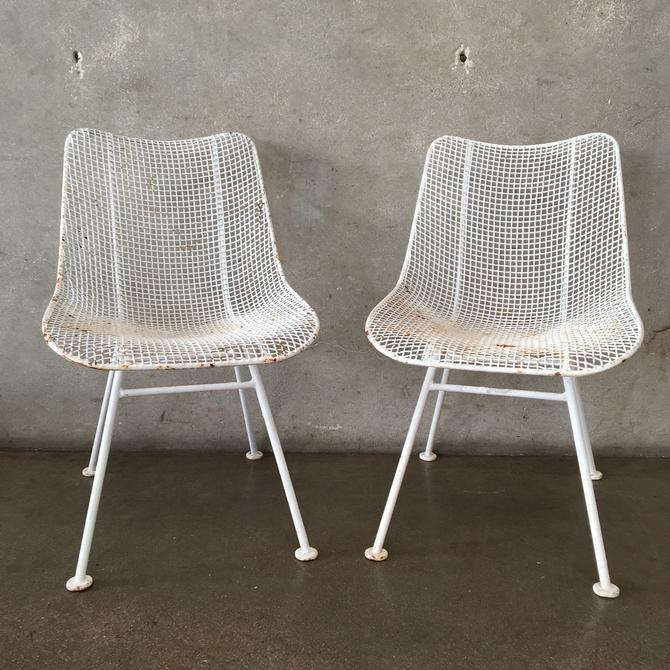 Mid Century Modern Patio Chairs by Russell Woodard