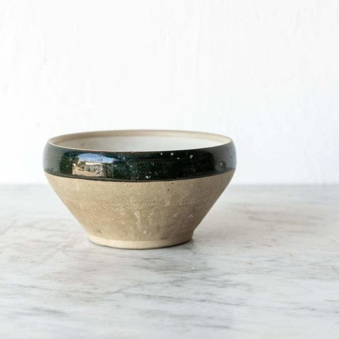Vintage French Stoneware Bowl