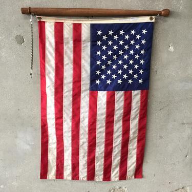 a347301f8431 Vintage Nylon Boat American Flag from Urban Americana (Home Decor ...