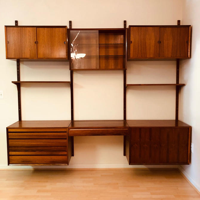 Rosewood CADO Wall Unit