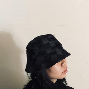 Velvet & Denim Bucket Hat