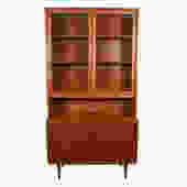 Compact 2-Piece Sliding Door Display / Storage Cabinet