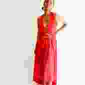 Halston IV Vintage Maxi Dress, Size S Petite