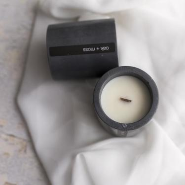 Modern Soy Concrete Candle