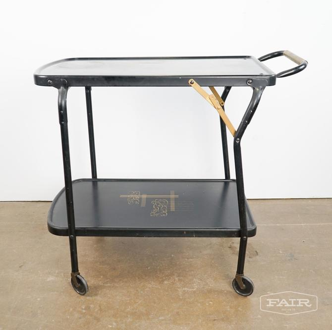 Trimble Metal Tray Table Cart