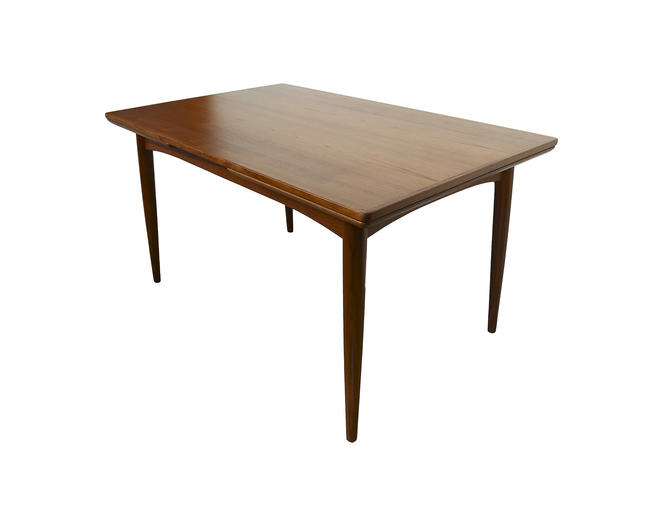 Teak Dining Table with 2 leaves Gudme Mobelfabrik Danish Modern Mid Century Modern by HearthsideHome