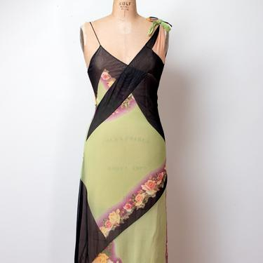 Floral Print Slip Dress | Jean Paul Gauliter by FemaleHysteria