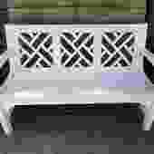Innova Chippendale Cast Aluminum Bench
