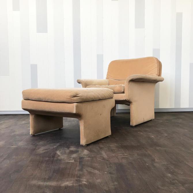 Vladamir Kagan Lounge chair and ottoman project pi
