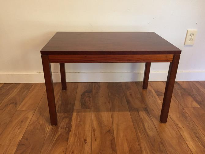 Heggen of Norway Rosewood Side Table