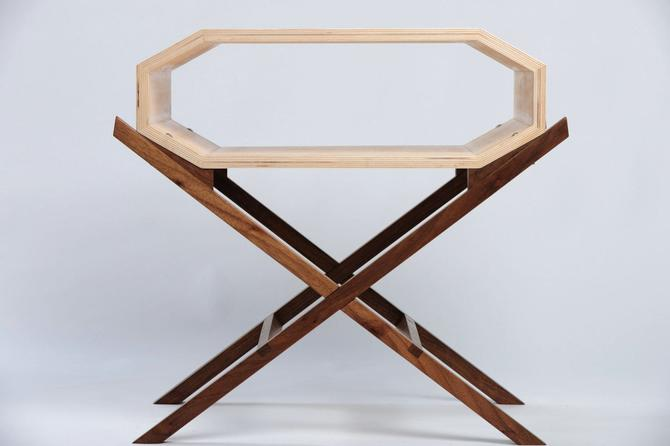 Invader Nightstand or Side Table Without Doors by ImagoFurniture