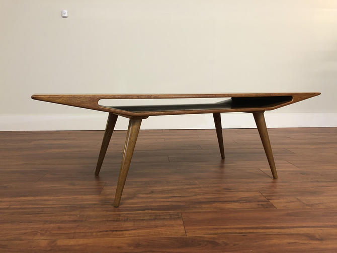 Edmund Jorgensen Teak Coffee Table by Vintagefurnitureetc