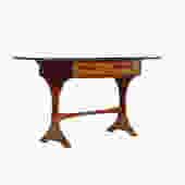 Danish Modern / Mid Century Entry / Key Table — Fresco Line for G-Plan — Drop leaf by atomicthreshold