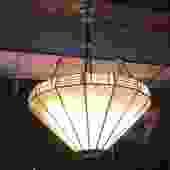 Tiffany Style Bowl Pendant Chandelier