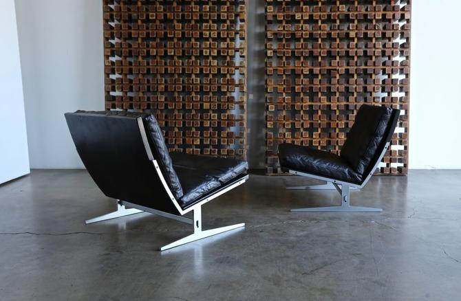 Jørgen Kastholm & Preben Fabricius Model Bo-561 Lounge Chairs circa 1965