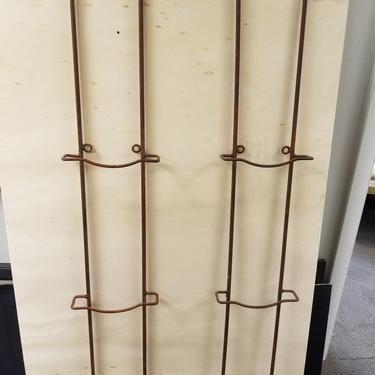 Pair of Iron Plate Racks