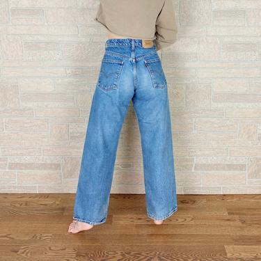 Levi's 565 Orange Tab Wide Leg Jeans / Size 27 by NoteworthyGarments