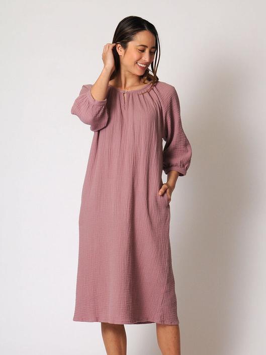 Reversible Gathered Dress