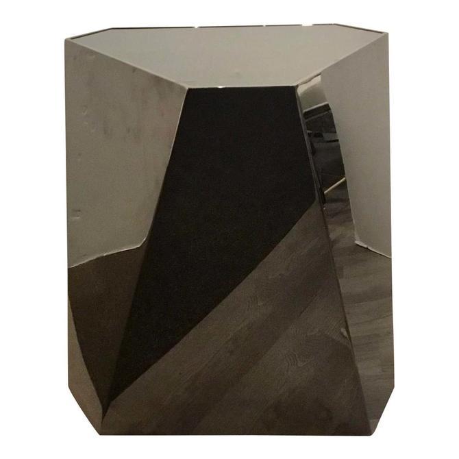 Caracole Modern Deep Bronze Contempo Side Table
