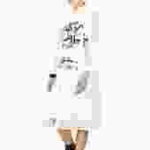 Amissa Button Down Pleat Detail Dress