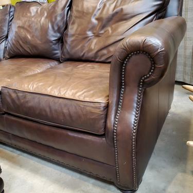 Bernhardt Furniture Leather Sofa