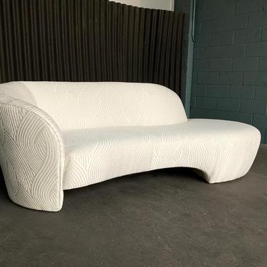 Vladimir Kagan for Weiman Sofa Chaise Lounge by HermansSteelGarage