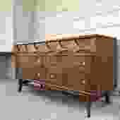 Midcentury Broyhill Brasilia Six Drawer Dresser
