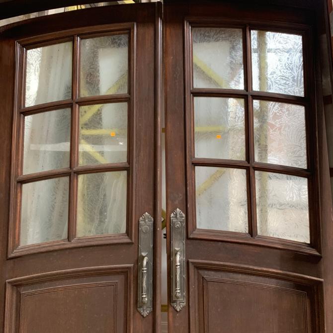 Stunning Double Entry Door