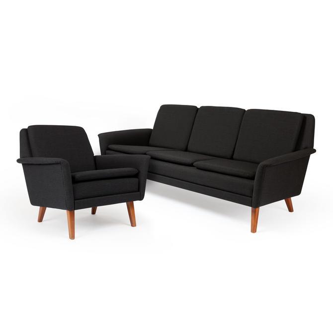 Enjoyable Danish Modern Folke Ohlsson Dux Sofa Lounge Chair By Midcenturymodernlab Spiritservingveterans Wood Chair Design Ideas Spiritservingveteransorg