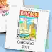 2021 Chicago Desk Calendar