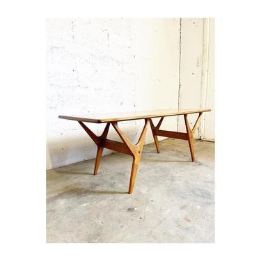 Danish Mis Century Modern Coffee Table by FlipAtik