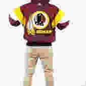 Vintage 90s Starter Redskins Big Logo Jacket Sz M by UnfadedEra
