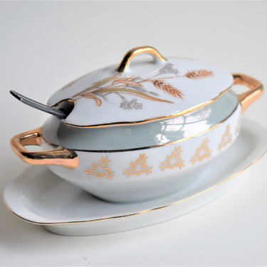 """Salt Condiment Sugar Jelly Server w/ Spoon 